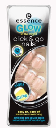 ess. glow in the night click &go nails