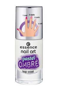 essence nail art pastel ombr  top coat 27