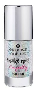essence shake me! i?m pretty top coat 25