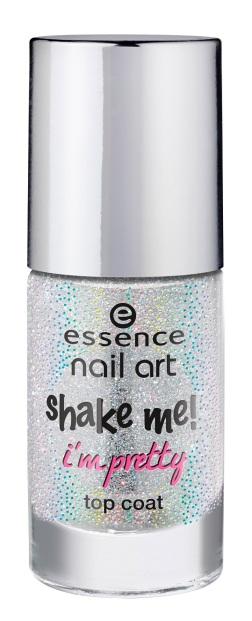 essence shake me! i?m pretty top coat 25
