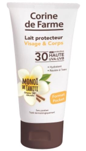 Leite protetor rosto e corpo FPS 30 tubo 9,99EU