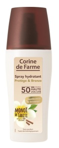Spray hidratante Protege e Bronzeia FPS 50 150ml 14,99EU