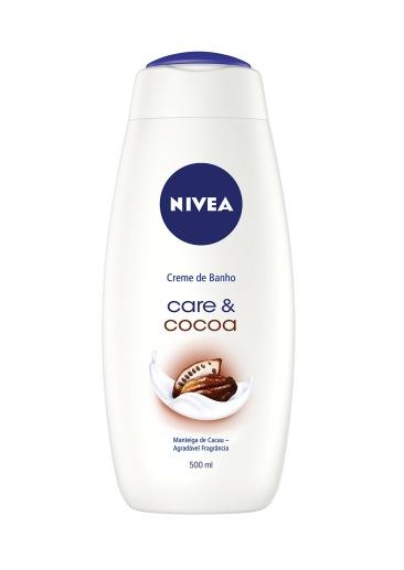 NOVO_NIVEA Creme de Banho Care & Cocoa