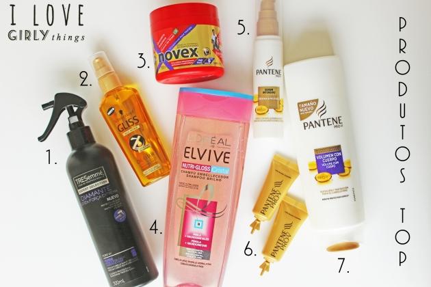 produtos que uso no meu cabelo